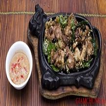 Set ăn Nhím nướng tại bàn với Nhà hàng Nhím No1