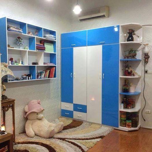 Tủ Nhựa Đài Loan Hải Phòng kết Hợp Kệ Trang Trí