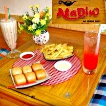 Combo ăn uống tại AlaDin Coffee.