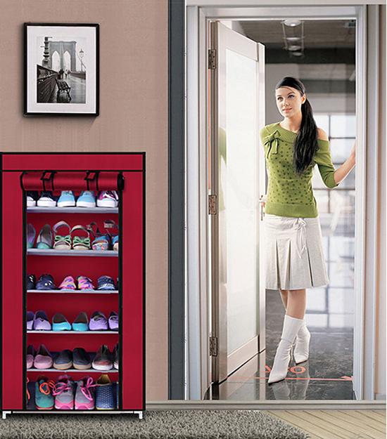 Tủ Giầy 6 Tầng -Thông Minh Chống thấm nước, bảo vệ giày dép ( Giá mới -  Hot)