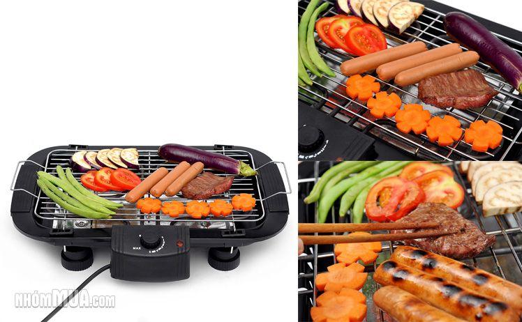 Bếp nướng điện không khói Electric Barbecue Grill ( Giá mới )