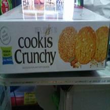 Bánh Cookis Crunchy
