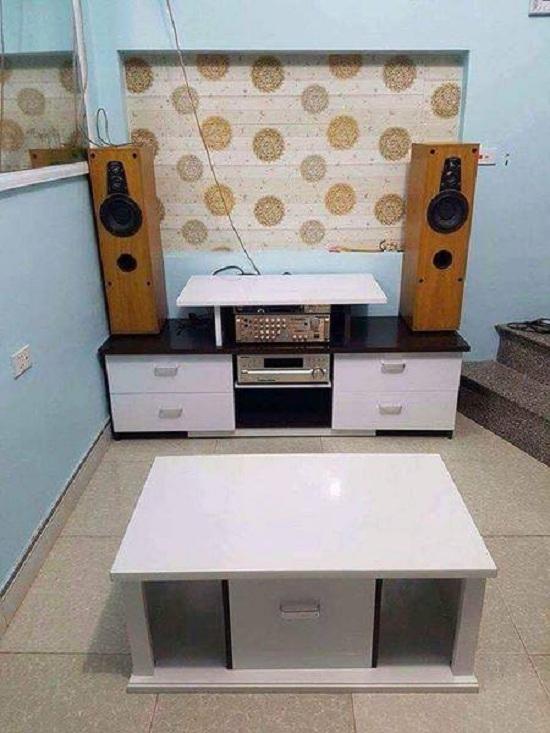 Tủ tivi - Kệ tivi Hải Phòng đặt theo thiết kế KH