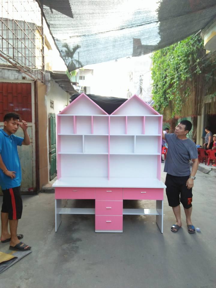 Bàn học sinh đôi nhựa Đài Loan Hải Phòng