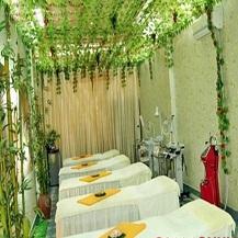 Tắm trắng dưỡng da tại Spa Kim Ngân