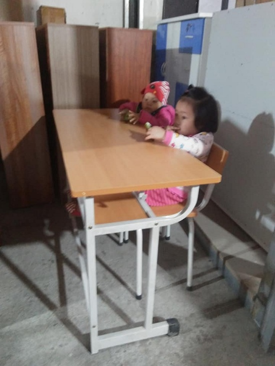 Bộ Bàn Ghế Học Sinh Gỗ Trường Học