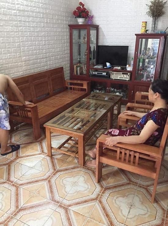 Bộ Bàn Trà  Gỗ Phòng Khách Hải Phòng 1,8m ( HOT )
