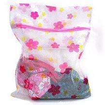 Combo 2 túi lưới giặt đồ hoa hình Hoa loại dầy - Hot