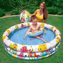 Bể bơi Intex Kèm Bóng Và Phao Bơi Cho Bé ( 122 x 25cm )