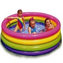 Bế bơi Intext 4 tầng mầu  loại To ( Size: 1,68 x 46 cm )