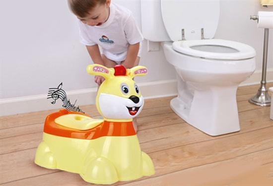 Bô vệ sinh cho bé hình thỏ biết phát nhạc thông minh - ( Giá Mới - HOT )
