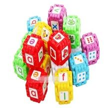 Bộ xếp hình lập phương 24 món cho bé