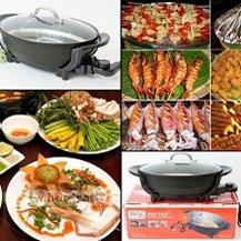 Chảo lẩu Cá đa năng Shachu Hàn Quốc cao cấp