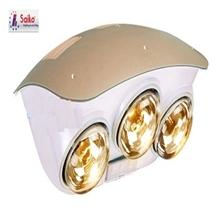 Đèn sưởi nhà tắm Saiko 3 bóng Vàng - Hàng chính hãng - VDC 700