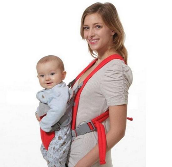 Đai địu em bé Baby Carrier 3 tư thế