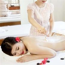 Gói trị liệu Massage body + Tắm dưỡng + Chăm sóc da mặt tại Phòng chẩn trị Y học cố truyền Thanh Nguyệt