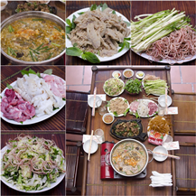 Thịt Nhím đủ món và Lẩu cua đồng tại Nhím.No1