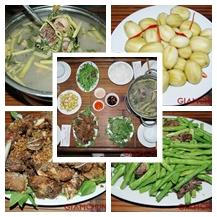 Set ăn Vịt tại Nhà Hàng NHÍM