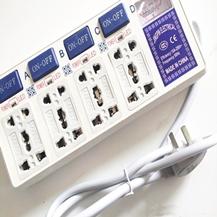 Ổ cắm điện thông minh loại có công tắc đo dòng điện