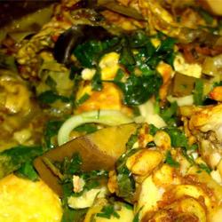 Set ăn Ốc om chuối đậu đặc biệt tại Quán Ngon Hải Phòng