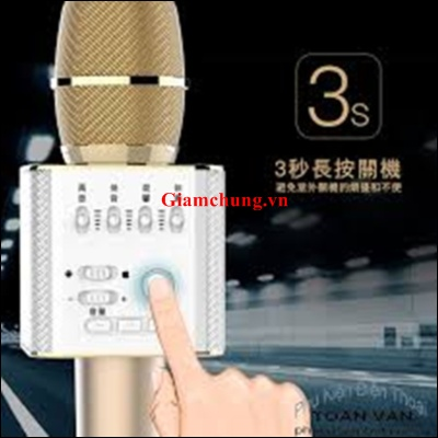 MIC BLUETOOTH MICGEEK Q9 KÈM LOA
