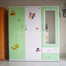 Tủ nhựa Đài Loan Hải Phòng 3 cánh 1 ngăn có gương  ( Giá Rẻ - Hot )