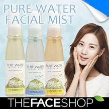 Xịt khoáng The Face Shop Pure Water Facial Mist
