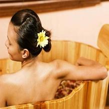 Xông hơi+ tinh dầu kết hợp Massage body hoặc chân